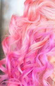 Cafe De Moon: Photo | Bubblegum pink hair, Pink curls, Hair styles