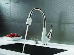 interesting modern kitchen faucets domino tall spout throughout