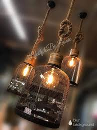 Hanglamp Zwart Draad Robuust Touw Maat M Lifestyle By Leonie