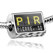 Neonblond Bead Pir Airport Code For Pierre Sd Charm Fits All