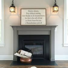 best 25 painted mantle ideas on fireplace makeovers stone fireplace makeover and fireplaces