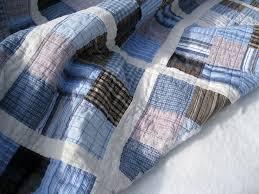 Best 25+ Mens quilts ideas on Pinterest | Man quilt, Quilts for ... & Quilt Patterns for Men | Quilt Made From Men's Shirts Adamdwight.com