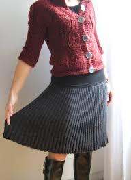 Knit Skirt Pattern Impressive Ravelry Bulgarian Knitted Skirt ブルガリアの手編みスカート Pattern