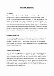 Personal Statement College 10 Personal Statement Examples For College Proposal Sample