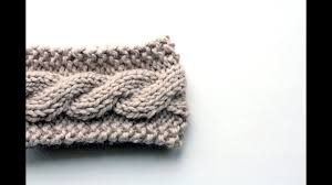 Cable Knit Headband Pattern