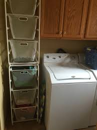 Dirty laundry sorting at its finest with the Ikea Algot system!