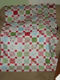 Festive Flurry quilt using Kate Spain's Flurry fabric and Amy ... & Festive Flurry quilt using Kate Spain's Flurry fabric and Amy Smart's Retro  Christmas Quilt pattern. Adamdwight.com