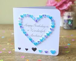 Handmade Birthday Card Designs For Husband Handmade Birthday Card For Husband Happy Birthday To A