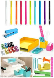 colorful office accessories. Contemporary Office Pretty Poppin Desk Accessories On Colorful Office Accessories T