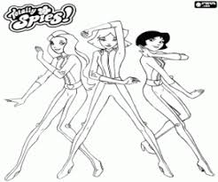 totally spies spy costume_4c52a6185ea0f p totally spies! coloring pages printable games on totally spies coloring pages