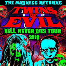 Rob Zombie And Marilyn Manson At Metrapark Rimrock Auto