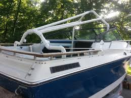 my pvc based boat cover frame support build page 1 iboats boating forums 629016