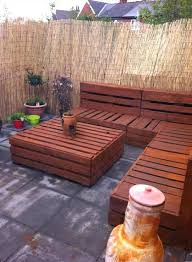 outdoor furniture with pallets.  Outdoor Garden Furniture Pallets Pallet Patio Bench Throughout Outdoor With P