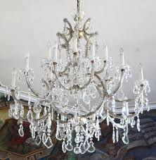 top 59 fantastic chandeliers chic mercury glass chandelier white shabby ceiling light style large size