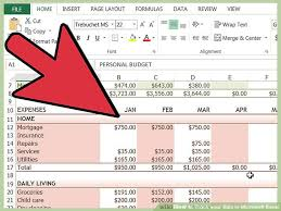 Tracking Expenses In Excel How To Track Your Bills In Microsoft Excel 13 Steps