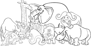 black and white animal clipart group. Png Royalty Free Stock Crazywidow Info Banner Image Gratuite Sur Pixabay Jungle Animals Clipart Black And White On Animal Group