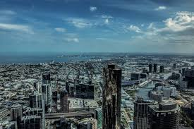 a birds eye view of melbourne from eureka skydeck
