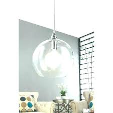 large glass globe pendant light uptown clear 1 chrome extra shade browns ceiling