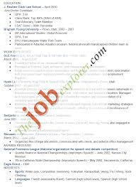 Sample Resume Gpa Law Resume 21