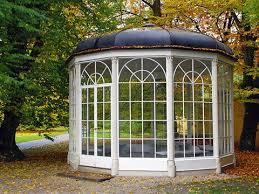 gazebo glass. the glass gazebo of schloss leopoldskron palace