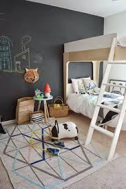 Kids Room: Boys Chalkboard Wall To Learning - Kids Playroom
