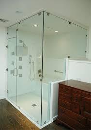 frameless glass shower enclosure orange county ca