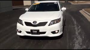 2011 Toyota Camry SE Sport Super White Excellence Cars Direct ...