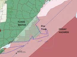 Tropical Storm Elsa will make a brief ...