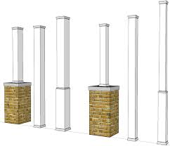 porch column wraps. \u003eEnlarge Image Of Post Covers · \u003e Porch Column Wraps