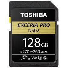 Thẻ Nhớ SDXC UHS-II Toshiba EXCERIA Pro 128G Class 10
