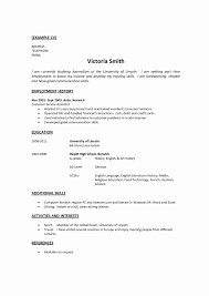 Work History Resume Format Of Resume with Work Experience Elegant Resume Work History 21