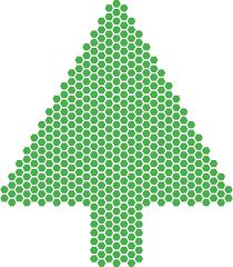 SVG > abstrait de fête Sapin de Noël - Image et icône SVG gratuite ...