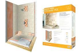 kerdi shower kit 32x60 shower kit bed comforters sh marble tile systems shower kits shower system