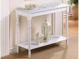 White Sofa Table Unique How To Decorate Console Table In November 2017  Furniture