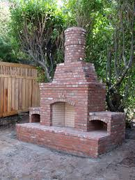 stone outdoor fireplaces brick outdoor fireplaces baker masonry and outdoor brick fireplace