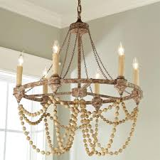 modern wood bead chandelier pertaining to paper mache rustic refined papier plan 10