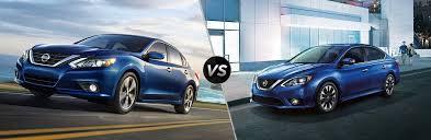 Nissan Altima Comparison Chart 2018 Nissan Altima Vs 2018 Nissan Sentra