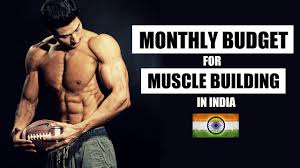 monthly budget for muscle building in india or expensive full info with pdf by guru mann you