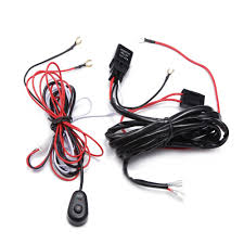 How To Wire A Work Light Us 3 65 41 Off Ecahayaku Led Work Light Relay Wire Harness Loom Fuse Switch 2 5 Meter Cable Suit For Connect Led Work Lights Bar Light 12v 40a In