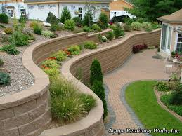 Front Yard Retaining Wall Designs Pin By Luchini On Retaining Wall Backyard Retaining Walls