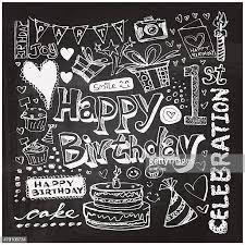 60点のhappy Birthdayのイラスト素材クリップアート素材マンガ素材
