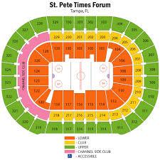 Amalie Arena Seating Chart Views And Reviews Tampa Bay