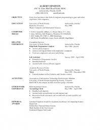 35 Writing A Resume Example Expert Marevinho