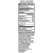 33 t mounn dew nutrition label