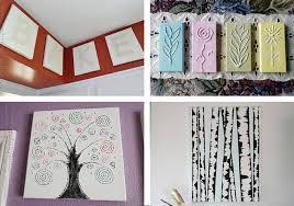 easy diy canvas decor simple canvas wall art ideas tutorials contemporary on fetching canvas wall art