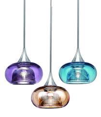 unique glass mini pendant lighting