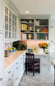 home office in kitchen. transitional kitchen design with shaker style cabinets 10 home office in