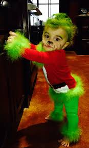the grinch baby costume. Beautiful The My Sweet Baby Grinch Costume For My Little Girl Minus The Bad Face Painting On The Costume Pinterest