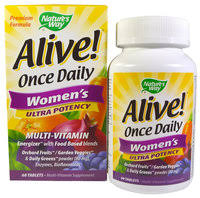 «Nature's Way <b>Alive</b>! Once <b>Daily</b> Women's 60 таблеток ...
