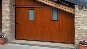 several advantages in one only armo sideways sliding garage doors